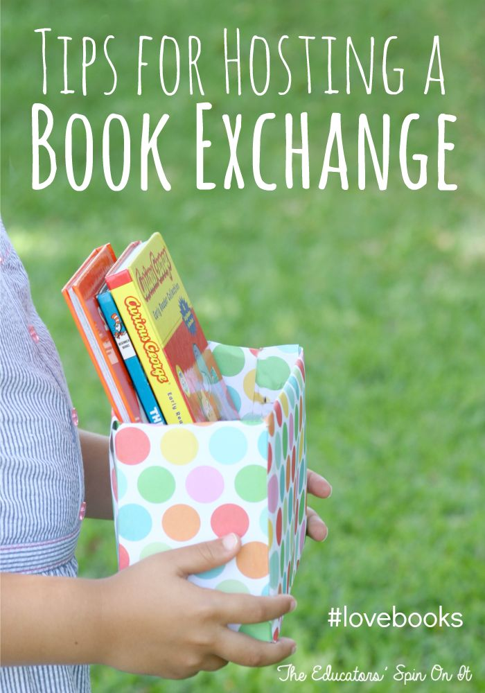 Tips for Hosting a Book Exchange with Friends this Summer #lovebooks