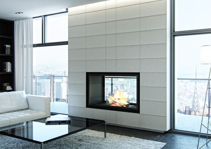 Livingroom interior with Skyline tiles