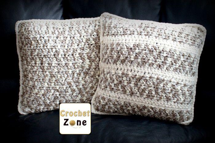 Basic Throw Pillow Crochet Pattern by Crochet Zone  : 9004d867a78137e0d49099164f1f9918 from www.pinterest.com size 700 x 468 jpeg 71kB
