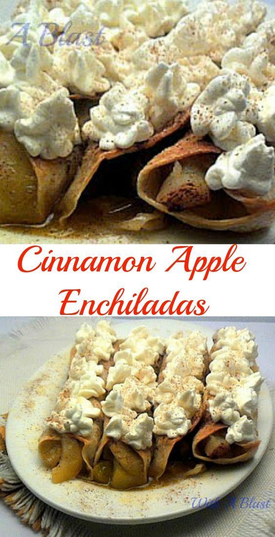 Quick  Easy syrupy, Apple Enchiladas #Enchiladas #AppleRecipe