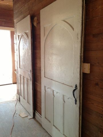 The Magnolia Mom - Joanna Gaines  Large old doors for the pantry