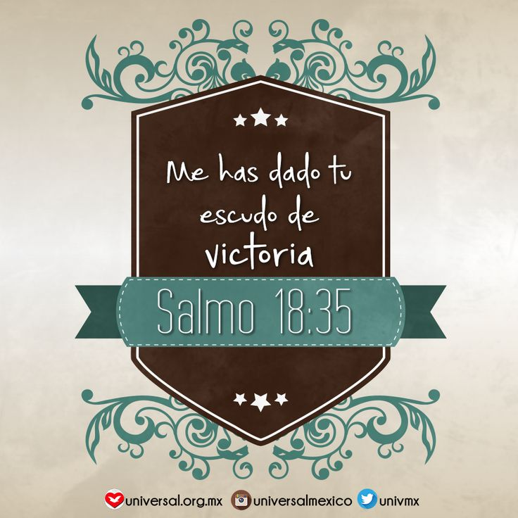 ¡La #victoria es nuestra! #Dios #escudo #fe Síguenos por nuestras redes sociales: http://www.universal.org.mx https://www.facebook.com/IglesiaUniversalMexico/ http://www.twitter.com/UnivMx http://www.instagram.com/UniversalMexico