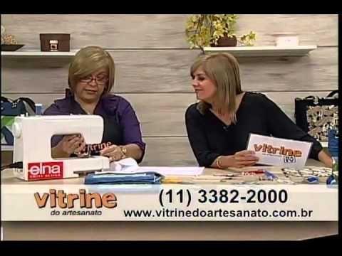 Bolsa em Patchwork com Ana Cosentino - Vitrine do Artesanato na TV - YouTube