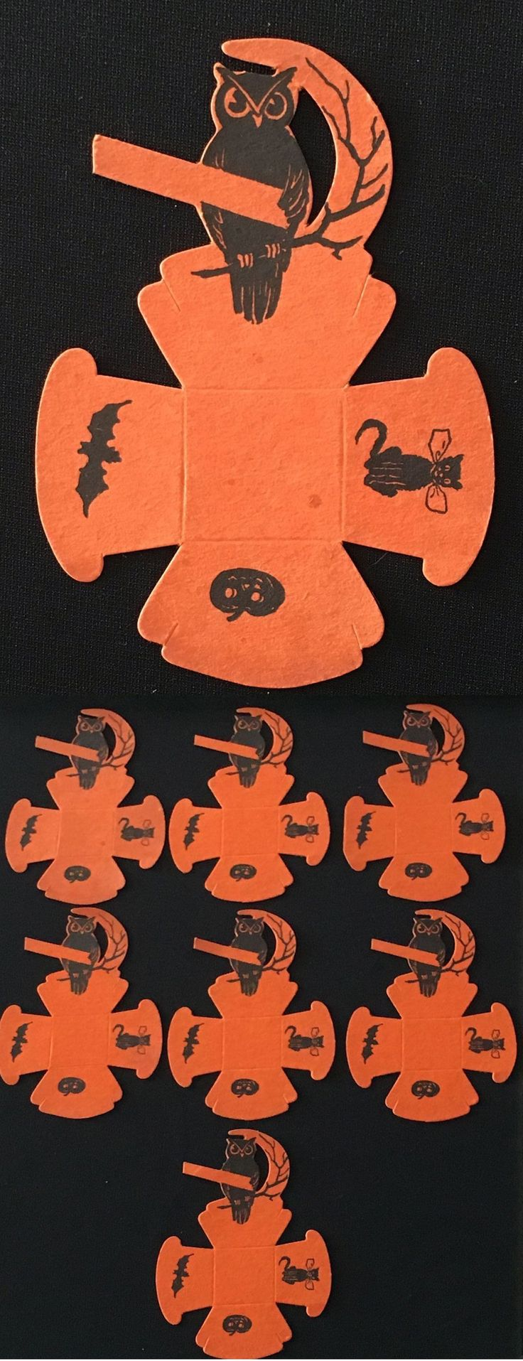 293 best Halloween - Vintage Paper images on Pinterest