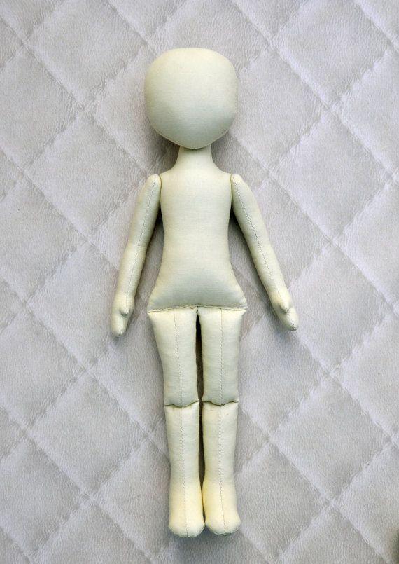 PDF Cloth Doll Pattern 15 Anna DollSoft Doll Pattern