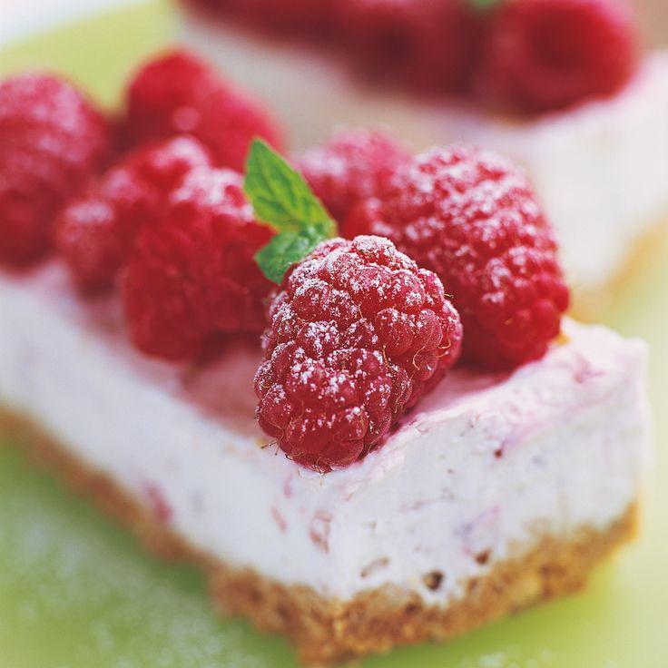 Cheesecake à la framboise faible en gras