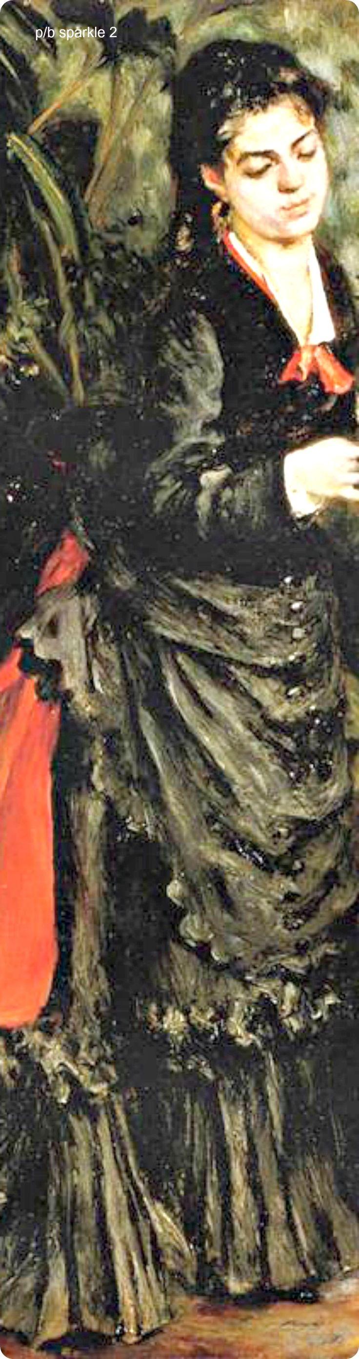 Pierre-Auguste Renoir (1841-1919): Woman with a Parrot (Henriette Darras), 1871