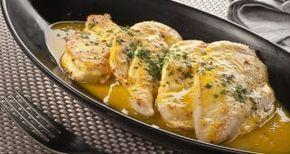 Receta de Filetes de pollo a la naranja