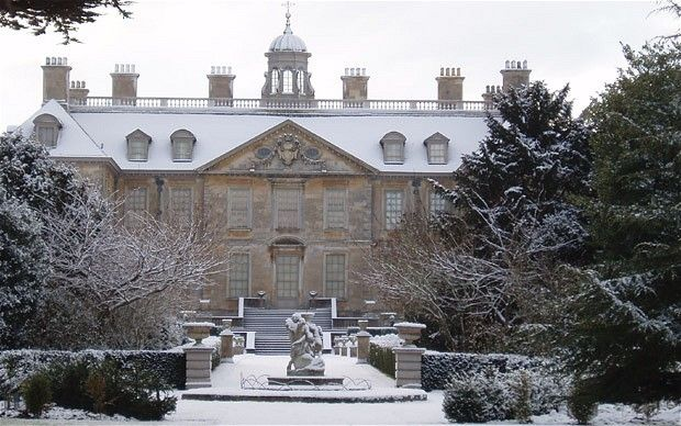 The Restoration country house of Belton in Grantham, Lincolnshire is surrounded by a deer park, formal gardens and a pretty orangery.