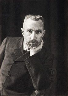 "Pierre Curie (15 May 1859 – 19 April 1906) was a French physicist, a pioneer in crystallography, magnetism, piezoelectricity and radioactivity. He was awarded the 1903 Nobel Prize in Physics for his work ""in recognition of the extraordinary services he rendered by his researches on the radiation phenomena."""