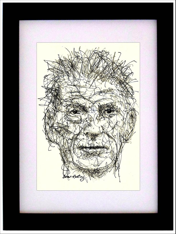 Samuel Beckett – Framed