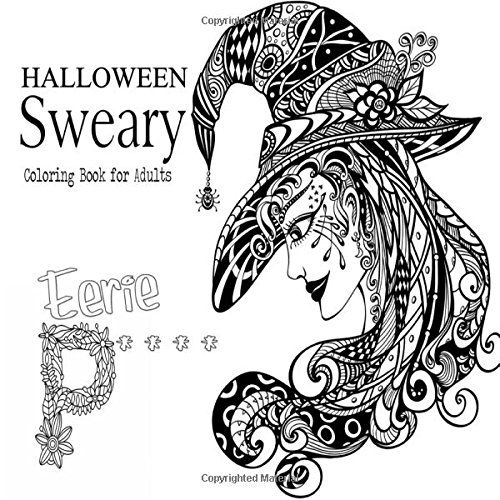 Halloween Sweary Coloring Book For Adults By Adult Colori