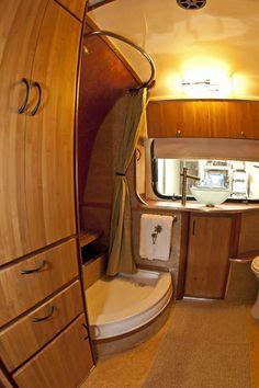 1978 31' airstream land yacht floor plan - Google Search ...