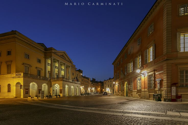 Piacenza by night by Mario Carminati on 500px