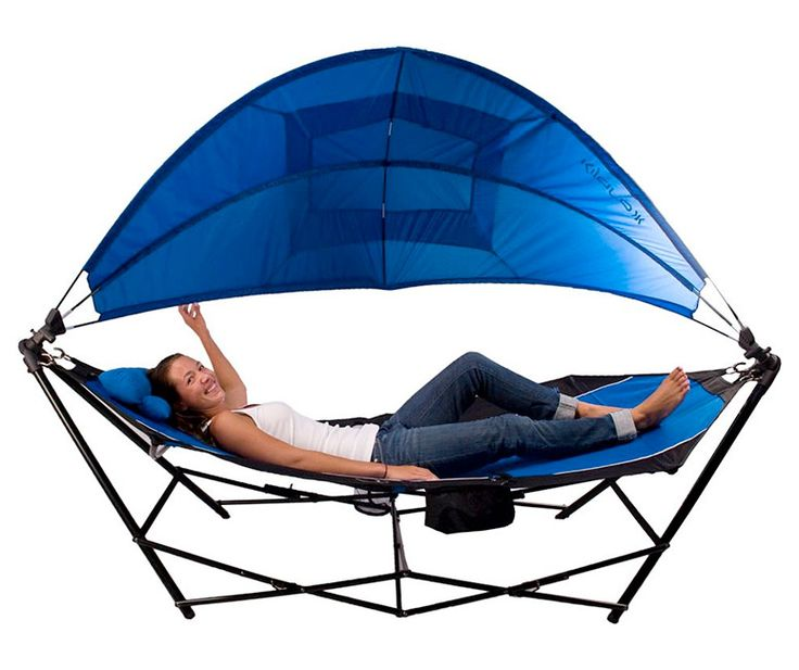 Kijaro+-+Portable+Hammock+With+Canopy+and+Cooler