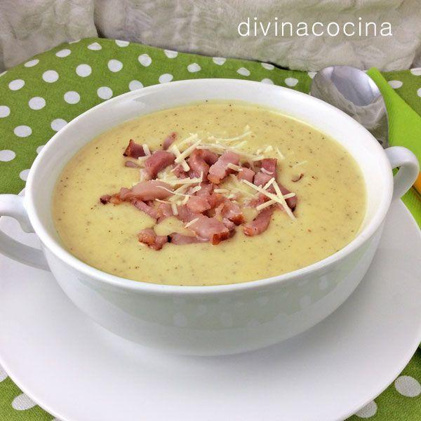Divina Cocina - Supa crema de cartofi cu ceapa