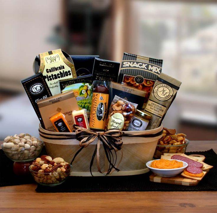 Gourmet nut sausage gift basket sausage gift basket
