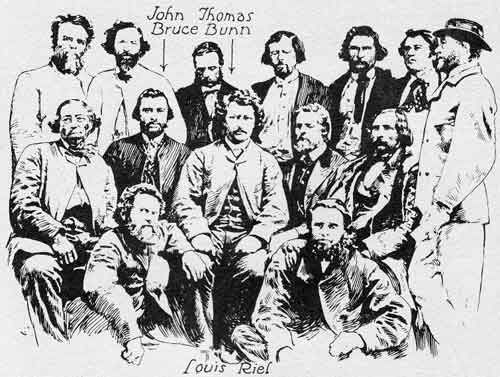 The Red River Rebellion was the sequence of the events related to the 1869 establisment of the Provincial government by the Metis leaders Louis Riel in Manitoba. The Red River Rebellion started because the Metis were losing land. Mcdonald did not split up the land he would have less population seperated the land he would have a greater population. It was one of the first violent and failed attempts to get fair representation by those taken over by Canada when Canada purchased Rupert's land.