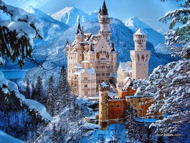 Neuschwanstein Castle - Fairytale look of this castle inspired Walt Disney to create the Magic Kingdom