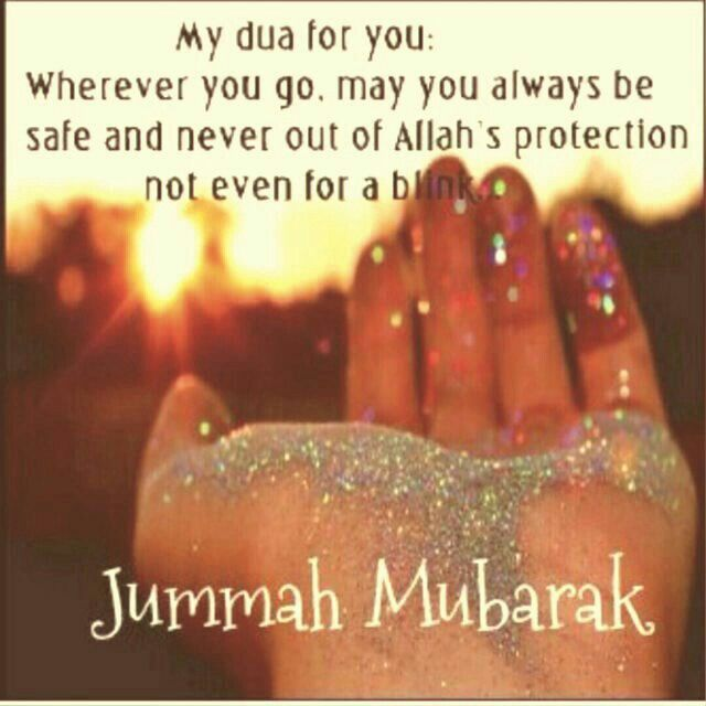 Inshalla. Ameen