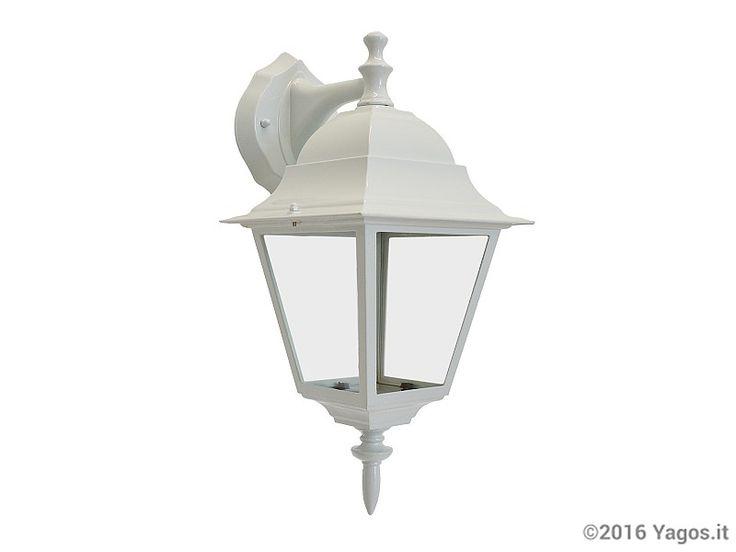 Lampada applique da esterno colore Bianco (91124)