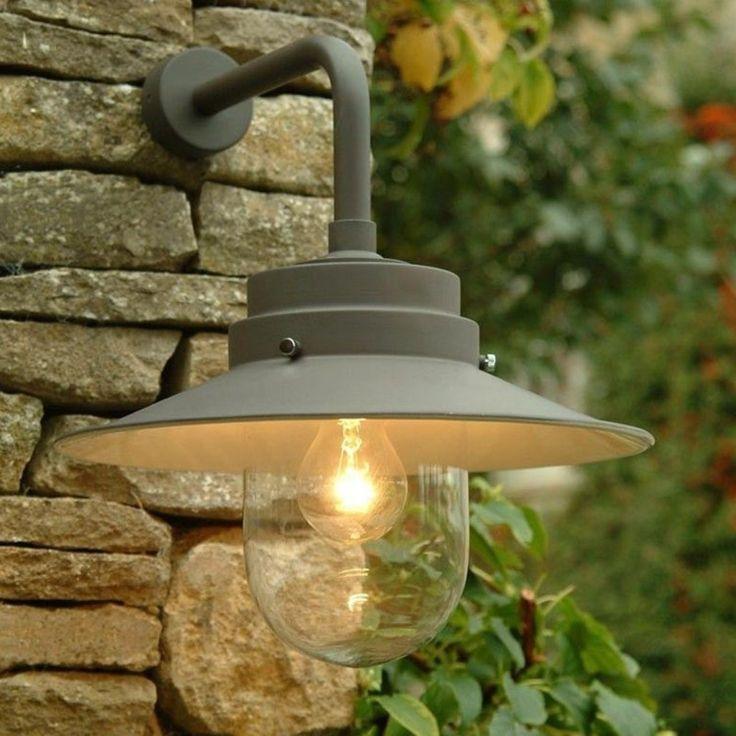 NAGEKEKEN Buitenlamp stallamp Belfast Charcoal grijs. Voor bij de achterdeur van de schuur. Niet te vel.