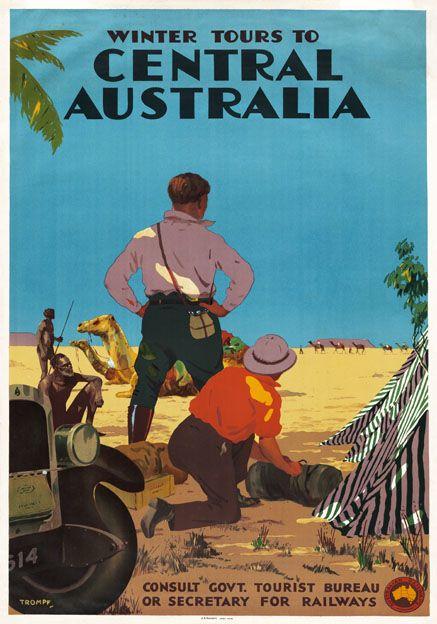 Winter Tours to Central Australia