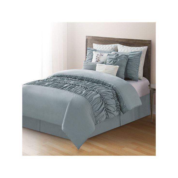 Home Classics® Quinn 10-pc. Comforter Set, Blue