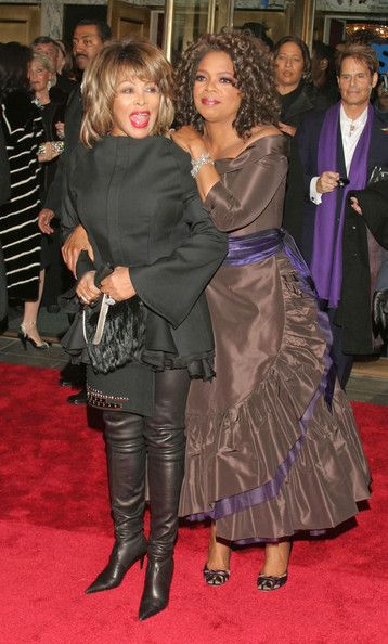 Tina Turner Photos: Opening Night of The Color Purple with Oprah Winfrey