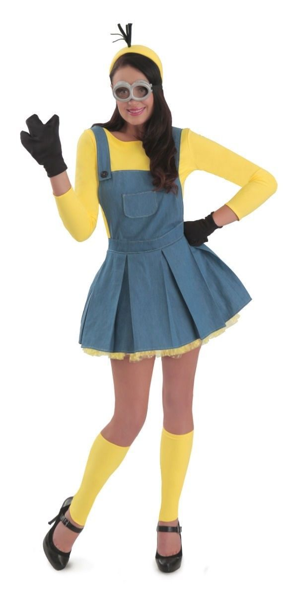 Female Minion Adult Womens Costume NEW Minions Movie