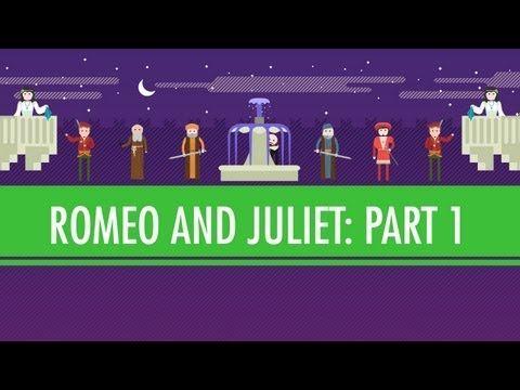 Of Pentameter & Bear Baiting - Romeo & Juliet Part I: Crash Course English Literature #2 - YouTube