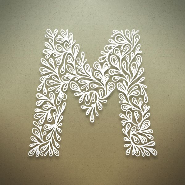 M. Botanical Alphabet on Behance