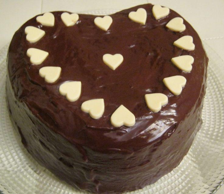 dolce cuore al cioccolato