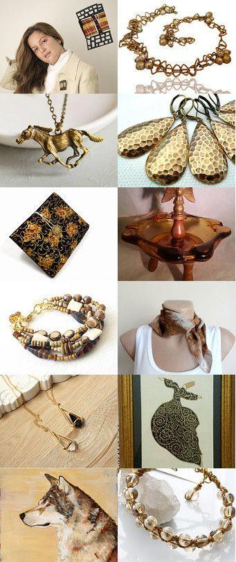 Antique gold by Oksana on Etsy--Pinned with TreasuryPin.com
