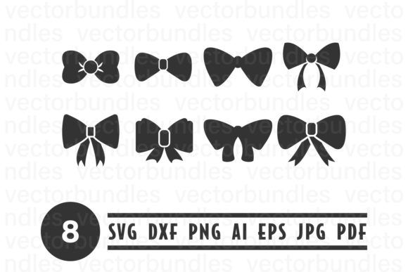 Bow Tie Clip Art Svg Graphic By Vectorbundles Creative Fabrica