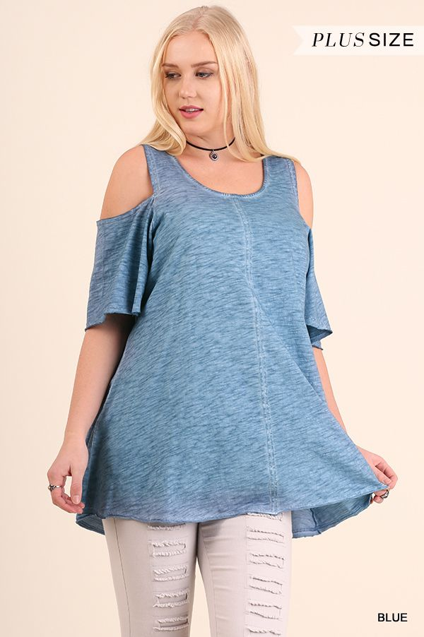 Umgee WA2792 Blue Shoulder Keyhole Tunic Available At Trees N Trends · Outdoor  FurnitureFloral ... Part 72