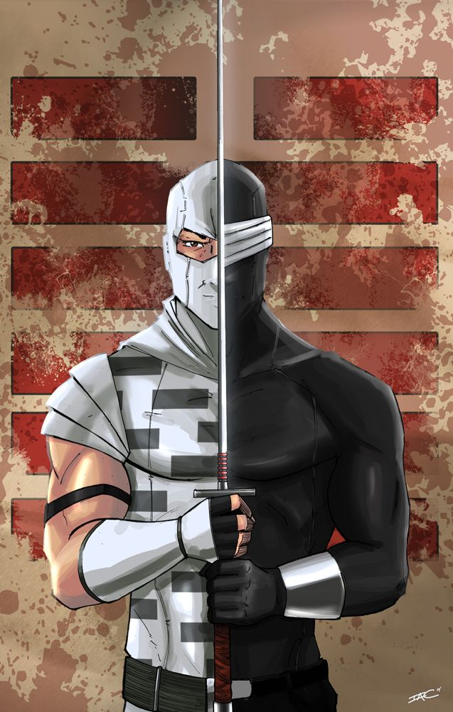Storm Shadow Snake Eyes II by ZombieHood.deviantart.com on @deviantART
