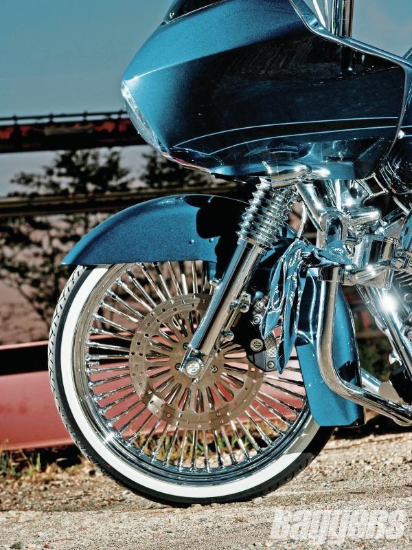 Custom Harley Davidson Motorcycles Baggers