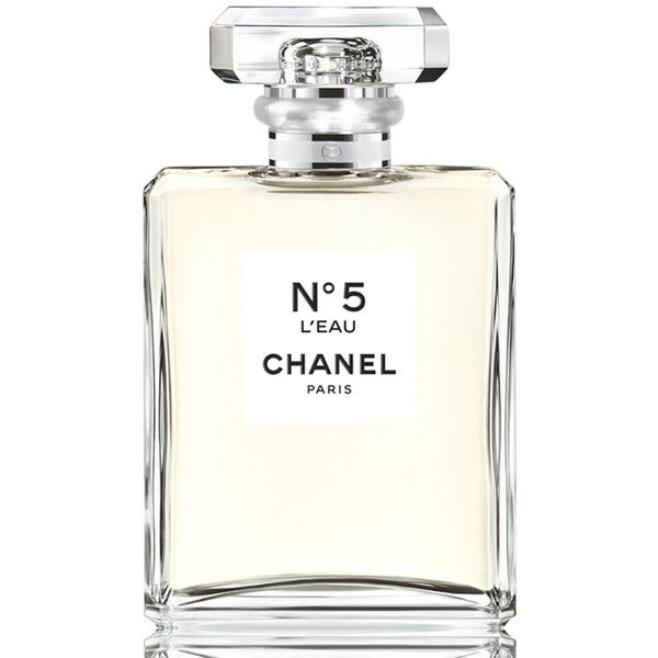 Chanel N&5 L'EAU Eau de Toilette Spray found on Polyvore featuring beauty products, fragrance, perfume, parfum fragrance, chanel, perfume fragrance, chanel fragrance and chanel perfume