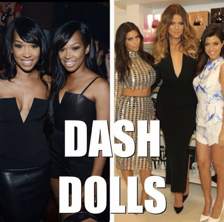 @khloekardashian: Congrats my DASH Dolls!!!! Shine brighter everyday!!! By @forevermalika Announcement: Dash Dolls, The new eight episode, one-hour series features Khloé Kardashian's best friend Malika Haqq and her twin sister, Khadijah Haqq, and is produced by Bunim/Murray Productions and Ryan Seacrest Productions. Executive producers Kris Jenner, Ryan Seacrest, Kim Kardashian West, Kourtney Kardashian and Khloé Kardashian. We did it!!!! #NOAprilfools #DashDolls