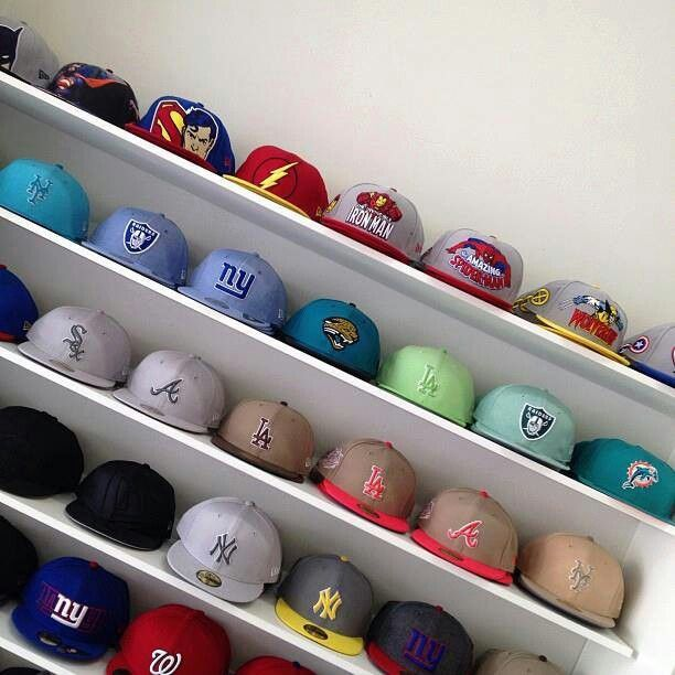 I need shelves for all my hats!