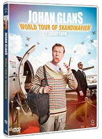 Recension av Johan Glans - Worldtour of Skandinavien. Ståupp med Johan Glans.