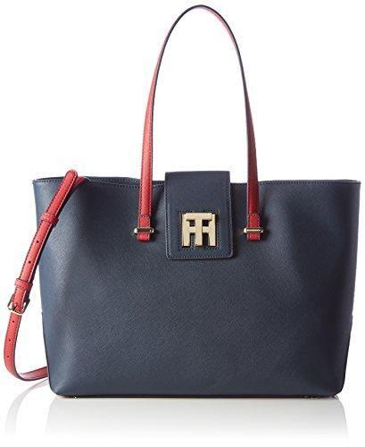 Oferta: 139.9€. Comprar Ofertas de Tommy HilfigerTH TWIST MEDIUM TOTE COLOURBLOCK - Shopper Mujer , color Azul, talla 49x31x15 cm (B x H x T) barato. ¡Mira las ofertas!
