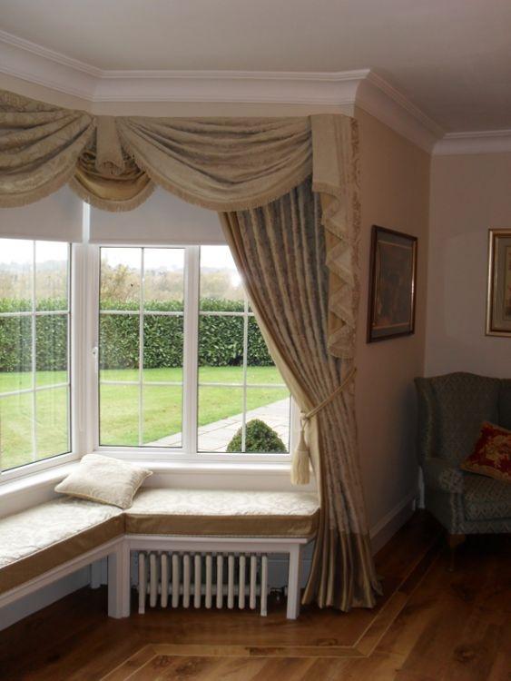 Bay Window Treatments Bay Windows And Window Treatments
