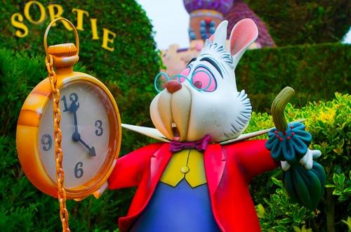 Alice In Wonderland White Rabbit Disney