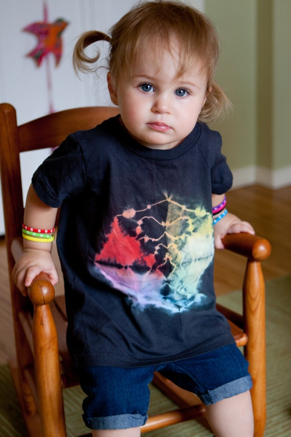Black  Star  Mandala  Rainbow  Toddler TShirt  by clothanddye, $26.00