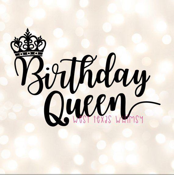 Birthday Queen Svg Happy Birthday Svg Birthday Mom Svg Etsy In 2021 Happy Birthday For Her Happy Birthday Wishes For Her Birthday Wishes For Her