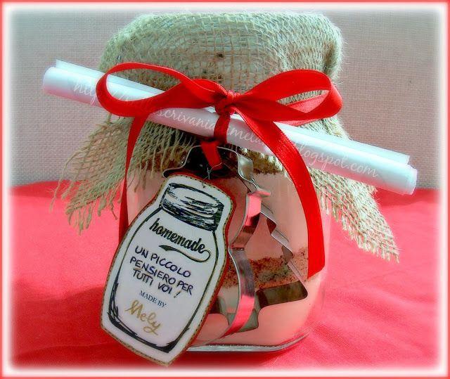 Biscotti in barattolo: regalo di Natale home-made!   Sulla scrivania di Melangy
