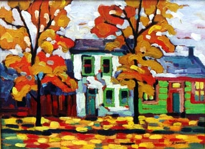 Nadia Denejnaya - I'm sad she's not painting landscapes much anymore - at least that I can find.