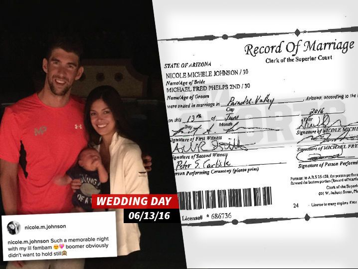 Michael Phelps -- Secretly Married for Months http://www.tmz.com/2016/10/26/michael-phelps-married/